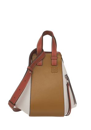 Small Hammock Grained Leather Bag