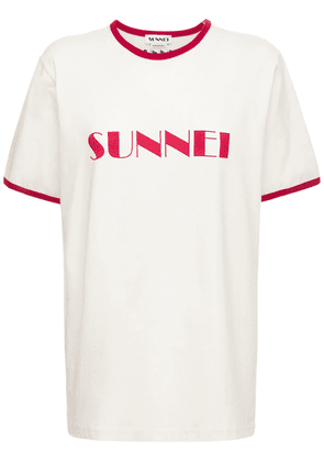 Logo Cotton Jersey T-shirt
