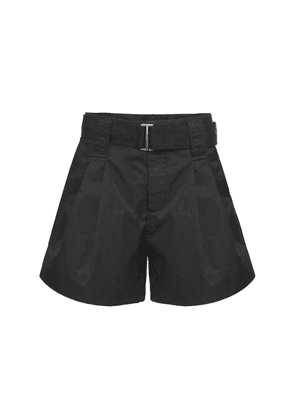 Outwear Belted Nylon Shorts
