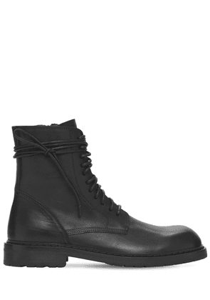 Santiago Leather Lace-up Boots