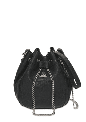 Johanna Faux Leather Bucket Bag