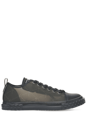 20mm Blabber Tech & Leather Sneakers