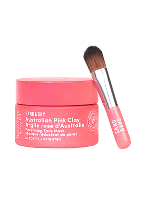 Sand & Sky Travel Australian Pink Clay Porefining Face Mask in Beauty: NA.
