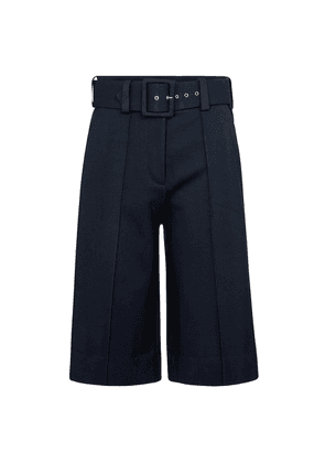 High-rise ponte jersey culottes