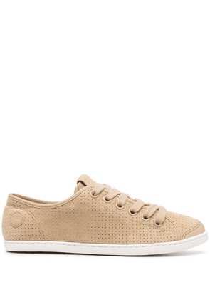 Camper Uno perforated sneakers - Neutrals