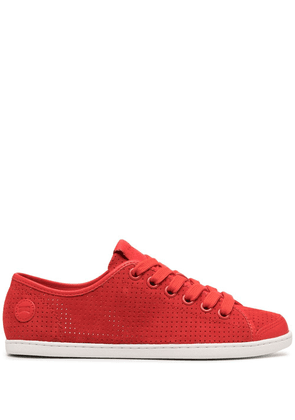 Camper Uno perforated sneakers - Red
