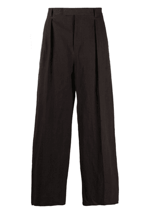 Valentino wide-leg tailored trousers - Brown