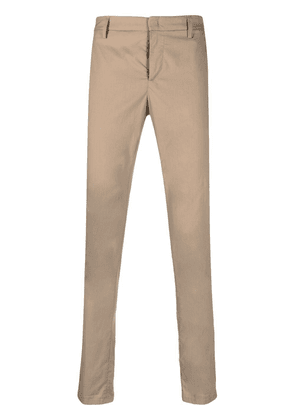 Dondup mid-rise slim-fit trousers - Neutrals
