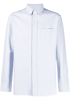 TOM FORD long-sleeve button-fastening shirt - Blue