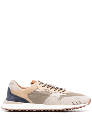Buttero tonal panelled trainers - Neutrals