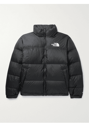 THE NORTH FACE - 1996 Retro Nuptse Quilted Nylon and Ripstop Down Jacket - Men - Black - XS