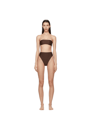 Jade Swim Brown All Around and Incline Bikini