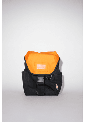 Acne Studios FN-UX-BAGS000050 Black/orange Large backpack
