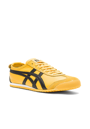 Onitsuka Tiger Mexico 66 in Yellow. Size 10, 10.5.
