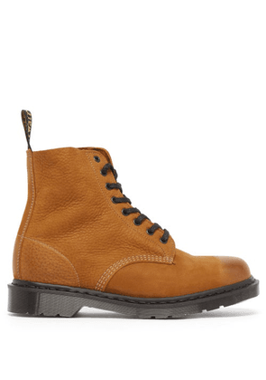 Dr. Martens - 1460 Pascal Leather Ankle Boots - Mens - Tan