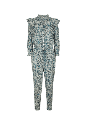 Tanay printed cotton jumpsuit