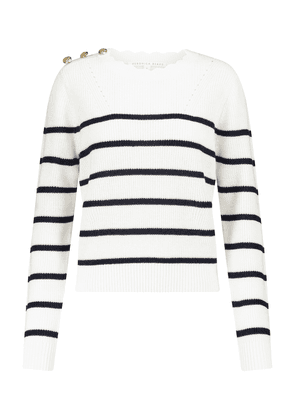 Matin striped linen and cotton sweater