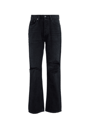 Lana high-rise straight jeans