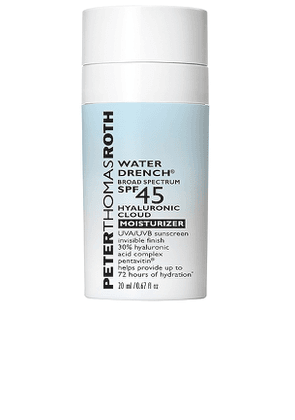 Peter Thomas Roth Travel Water Drench Broad Spectrum SPF 45 Hyaluronic Cloud Moisturizer in Beauty: NA.