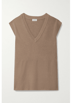 By Malene Birger - Belisia Ribbed-knit Sweater - Light brown