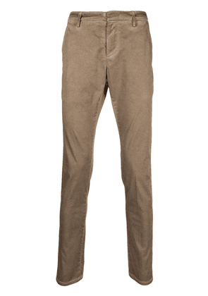 Dondup distressed slim-fit trousers - Neutrals