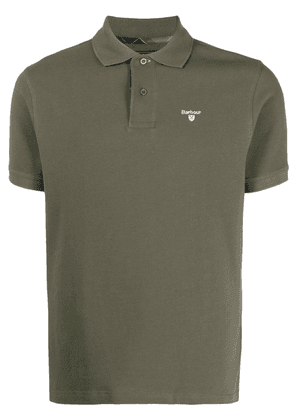 Barbour logo-embroidered polo shirt - Green