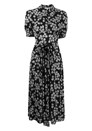 Alexa Chung Daisy print dress - Black