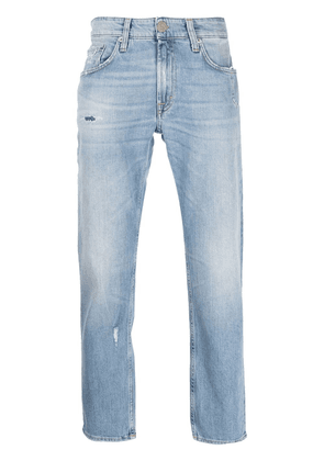 Department 5 distressed skinny-cut jeans - Blue