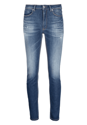 Dondup mid-rise skinny trousers - Blue