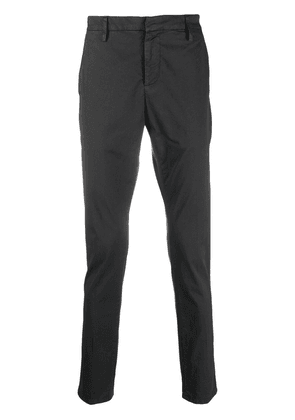 Dondup mid-rise slim-fit trousers - Grey