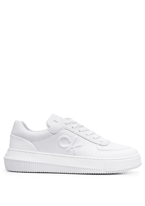Calvin Klein chunky sole lace-up sneakers - White
