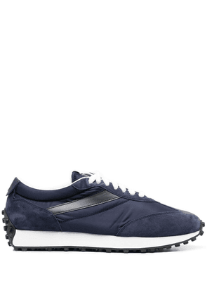 Doucal's smooth-panel sneakers - Blue