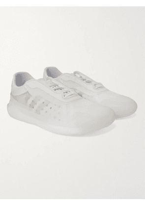 ADIDAS CONSORTIUM - Prada Rubber-Trimmed Ripstop Sneakers - Men - White - UK 4