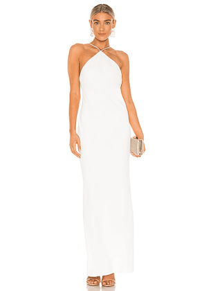 Amanda Uprichard X REVOLVE Riesling Gown in White. Size L.