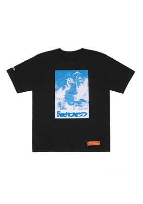 HERON PRESTON Herons Captcha t-shirt Men Size L EU