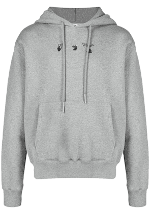 Off-White Marker Arrows hoodie - Grey