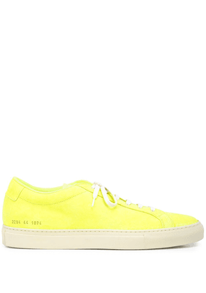 Common Projects Achilles suede trainers - Yellow