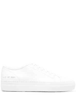 Common Projects Tournament flatform sneakers - White
