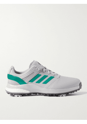 ADIDAS GOLF - EQT Wide Rubber and Mesh Golf Sneakers - Men - Gray - UK 8