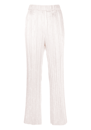 Forte Forte elasticated-waist trousers - White