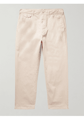ALEX MILL - Cotton-Blend Twill Chinos - Men - Neutrals - UK/US 32
