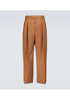 Valentino wool and mohair pants