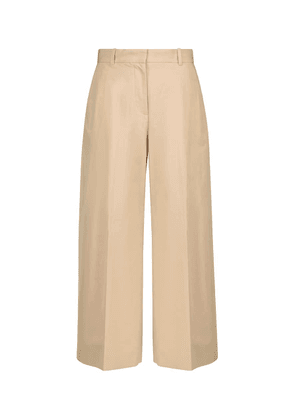 Talan cotton and linen culottes