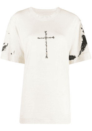 Givenchy graphic print T-shirt - Neutrals