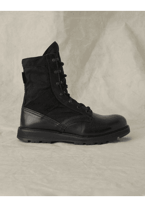 Belstaff Storm Leather Boot Black UK 12 /