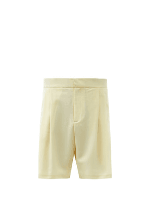 Edward Crutchley - Tailored Wool-blend Shorts - Mens - White