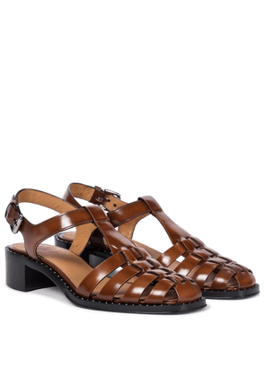 Genny leather sandals