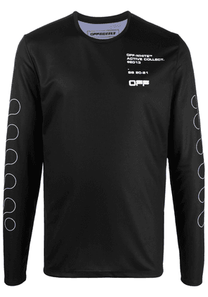 Off-White Graphic long-sleeve T-shirt - Black