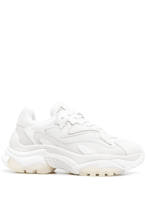 ASH chunky panelled sneakers - White