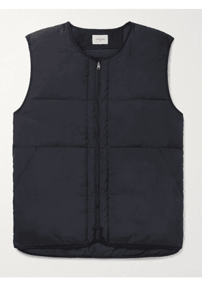 BELLEROSE - Hoch2 Quilted Shell Down Gilet - Men - Blue - XXL